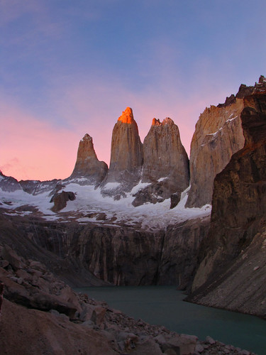 Sunrise-Torres Del Paine-Patagonia-Chile | by mikemellinger