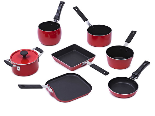 Mini Cookware - Red | by IMUSA
