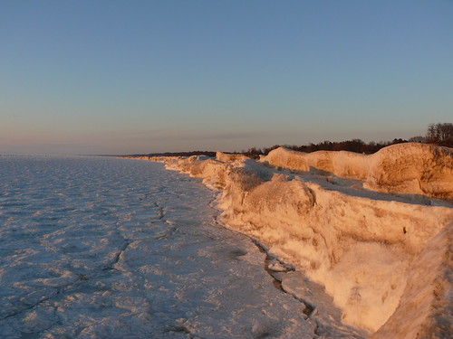 Pack ice on Lake Michigan | by John Winkelman