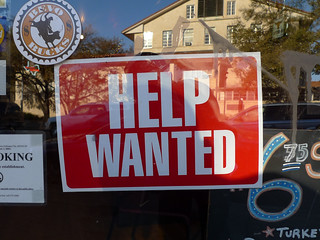Help wanted sign | by andjohan