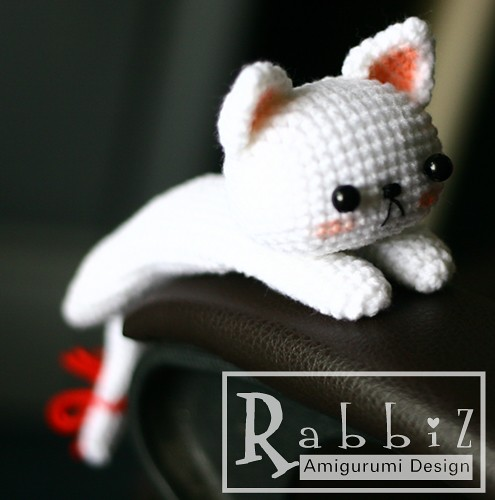 Amigurumi Kitty Anleitung : Amigurumi Drooping Cat Rabbiz Design Flickr