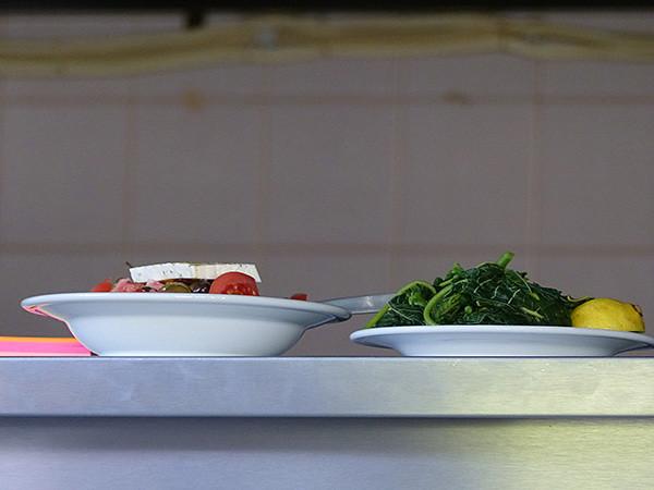 salade grecque et horta