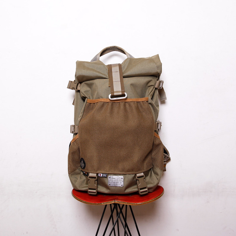 RIDE BAG / OFUKUROSAN オフクロサン / Coyote / No.811