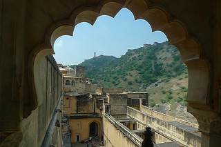 Jaipur - Amber Fort views outside