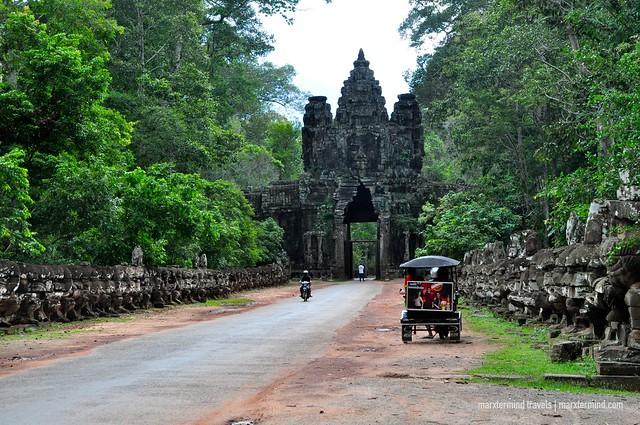 Victory Gate Angkor Park Siem Reap