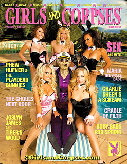Hollie & Friends On Cover Of Girls & Corpses Magazine | by Hollie Stevens