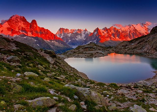 Last Light over Lac Blanc (Explored) | by sunstormphotography.com