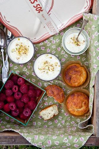 Tapioca Puddings & Lemon Poppy Seed Muffins | by tartelette