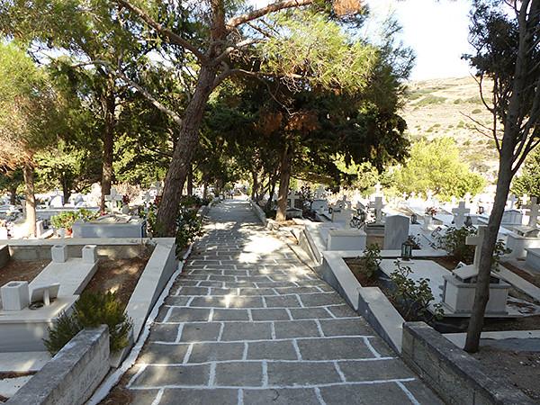l'escalier du cimetière