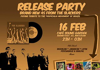 "Music With Soul! Records The Slackers 7"" Release Party -- 16 feb. 2008 