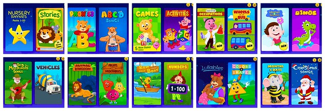 KidloLand App for Toddlers and Preschoolers