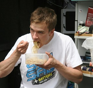 B-Moto Ludde Söderberg and his daily pasta | by Battery Energy Drink