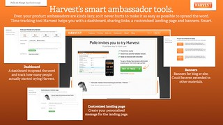 Harvest's smart ambassador tools. | by polledemaagt
