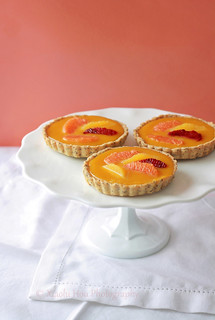 Orange Passionfruit Curd Tartlets | by Xiaolu // 6 Bittersweets