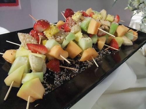 Fruit Skewers at MSHS '90 Reunion | by swampkitty