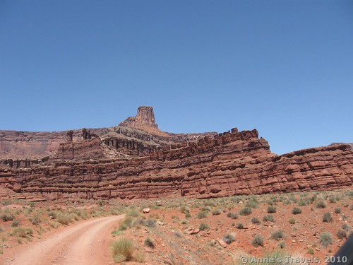 The Potash Road in Utah. Always take more water than you think you'll need into the wilderness, especially the desert!