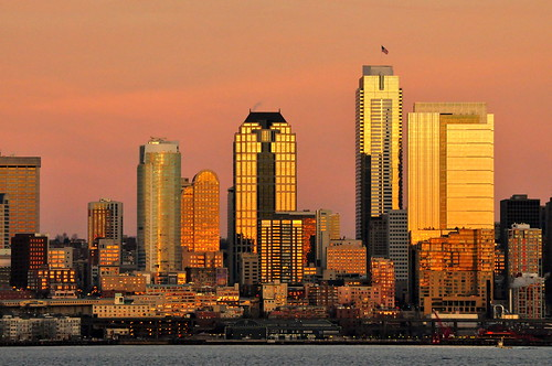 Downtown Seattle at Sunset | by mikeyskatie