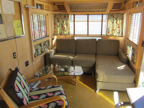 Spartan Travel Trailer Interior - 1955 | by MR38.