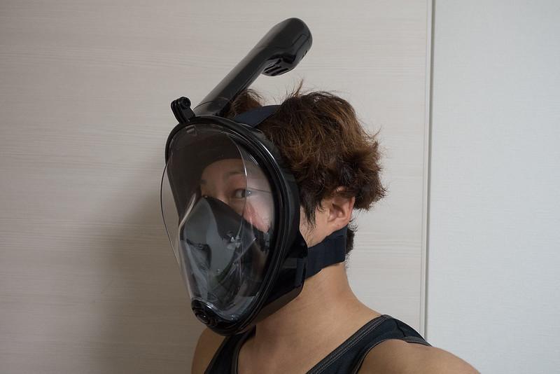 フルフェイスシュノーケリングマスク-4
