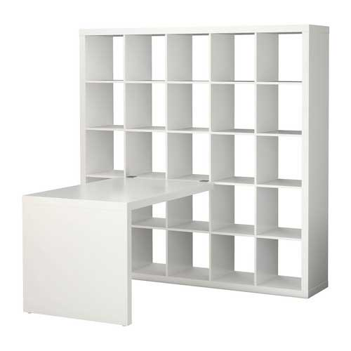 ikea expedit bookcase with desk flickr photo sharing. Black Bedroom Furniture Sets. Home Design Ideas