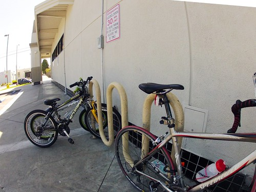 Walgreens bike parking | by Richard Masoner / Cyclelicious