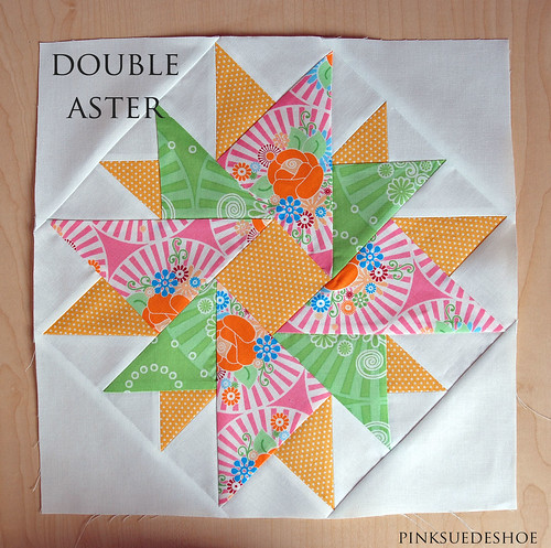 double aster | by pinksuedeshoe