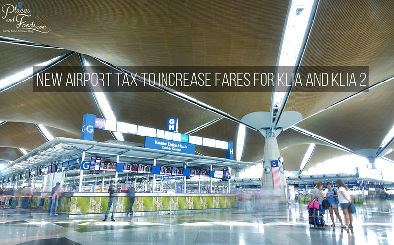 klia airport tax