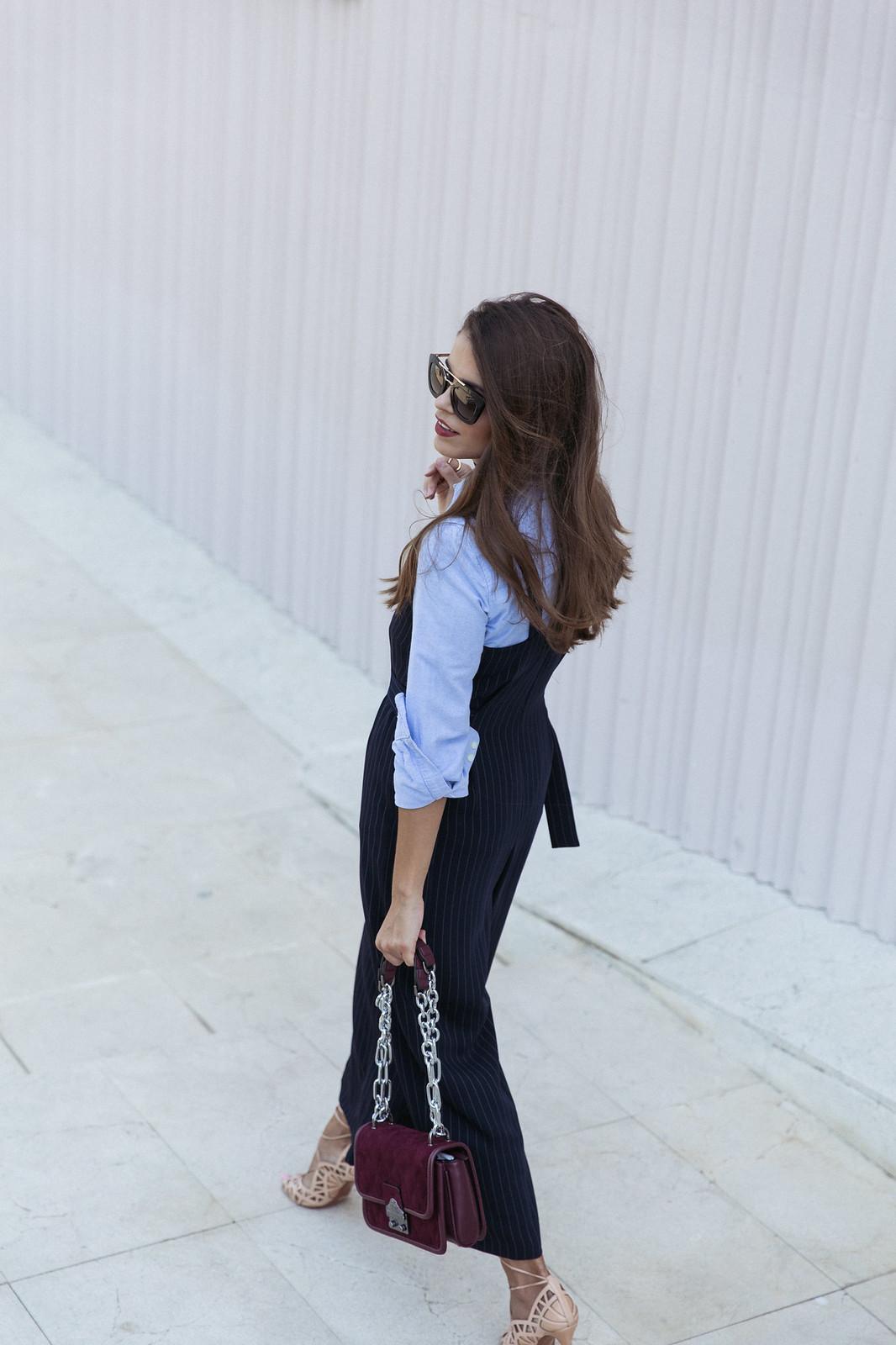 Jessie Chanes Seams for a desire - Pinstripped suit topshop heeled sandals schutz parfois bag  -11
