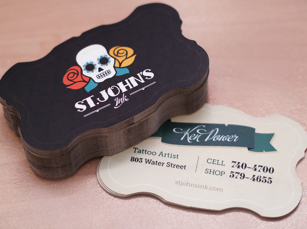 St. John's Ink Business Cards by Andrew Power
