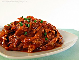 Crockpot Barbecue Pulled Pork | by CinnamonKitchn