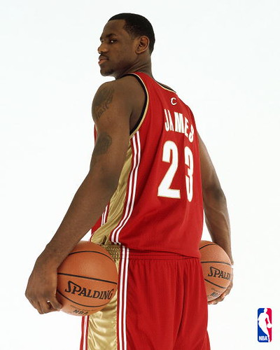 LeBron James 2003-2004 | by Cavs History