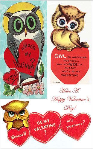 Vintage Valentine's day cards | by MyOwlBarn