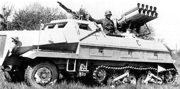 15 cm Panzerwerfer 42 (Sd.Kfz....