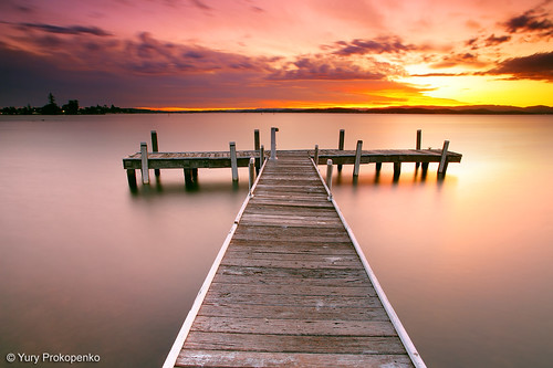 Sunset @ Lake Macquarie | by -yury-