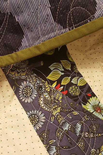 Twizzle Quilt Binding