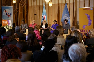 Panelists at  ITU's Girls in ICT Day event in New York, 26 April 2012. | by ITU Pictures