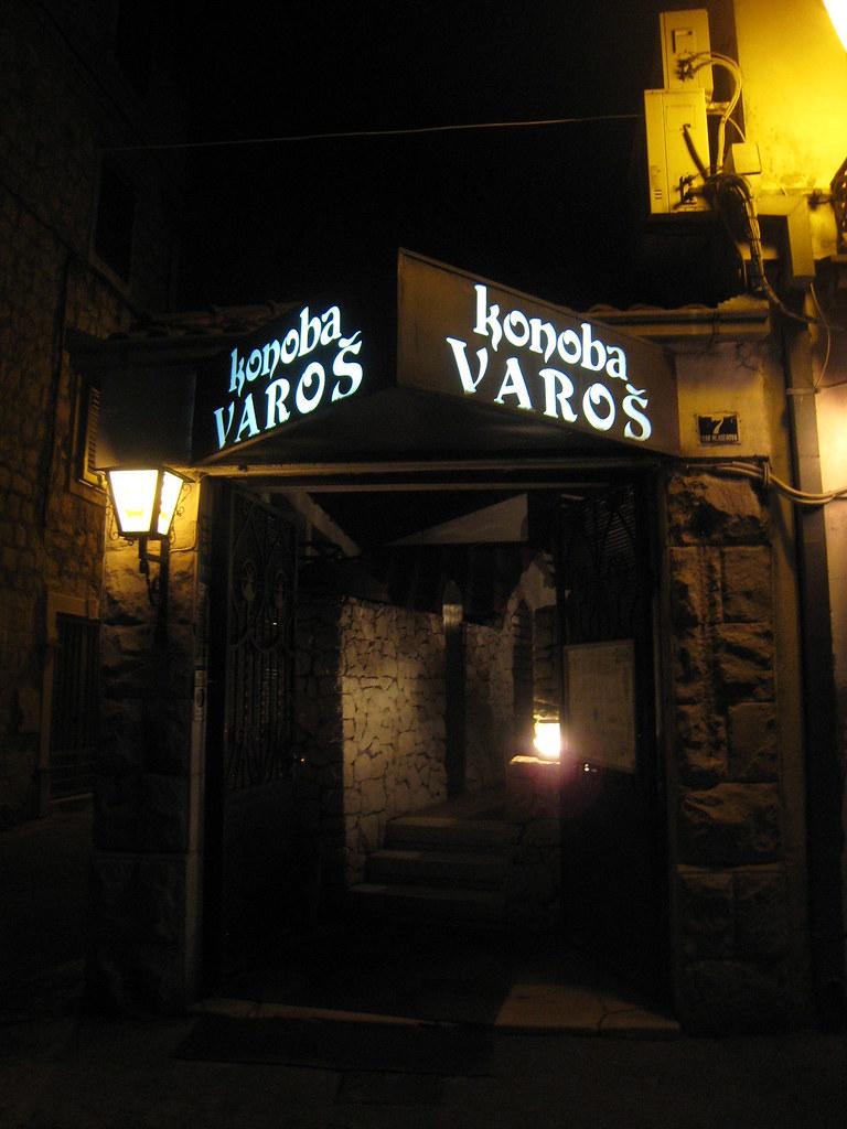 you MUST eat here in Split!