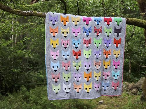 Fancy Fox quilt