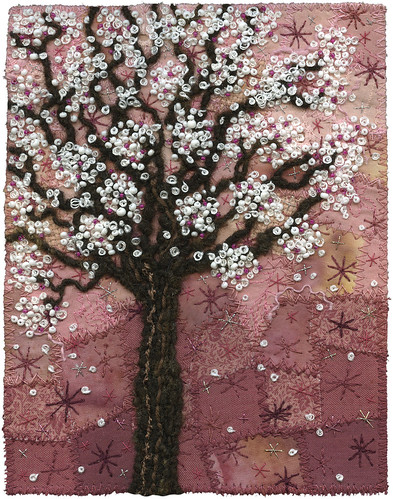 Blossoms on Pink | by Kirsten Chursinoff