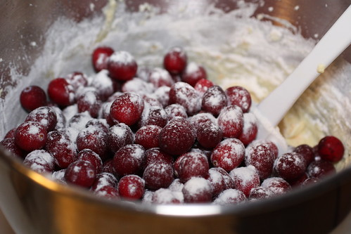 floured cranberries | by Madison Bistro