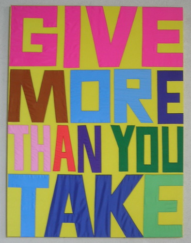 Give More Than You Take | by Your Secret Admiral