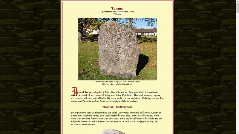 runestein sverige