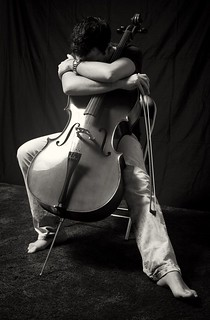 The violoncellist | by ambageo