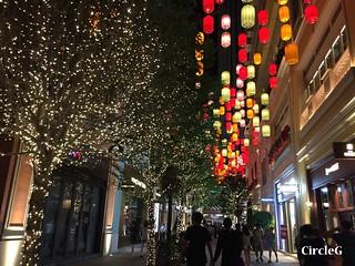 CIRCLEG 遊記 香港 灣仔 銅鑼灣 利東街 合和中心對面 燈籠 靚景 似旅行 聖誕 (8)