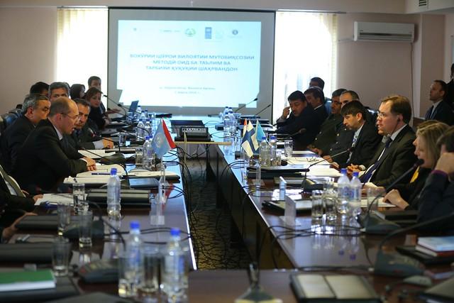 Региональный Диалог в области верховества закона в г. Курган-Тюбе 2 марта 2015 г
