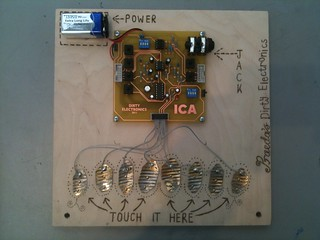 Dirty Electronics : Solder a Score @ ICA London | by asmo23