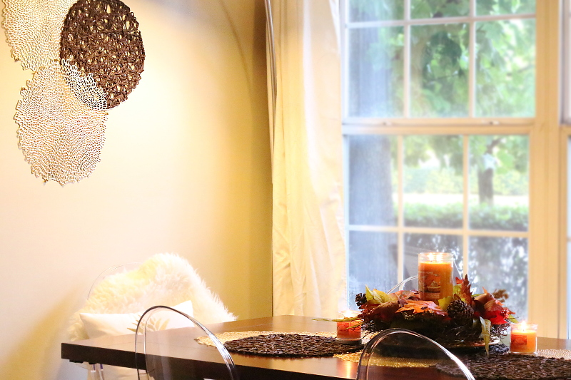 Easy DIY Table Runner for a Fall Centerpiece - My Fashion Juice