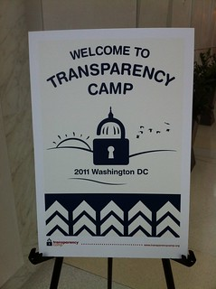 Welcome to Transparency Camp | by justgrimes