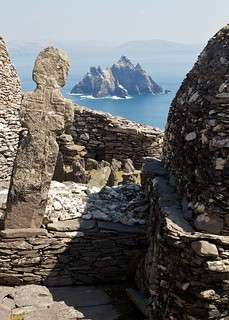 Little Skellig, as seen from the monastery on Skellig Michael | by paulgmccabe
