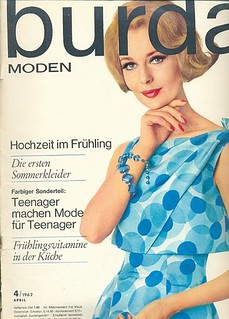 Burda Moden-April 1962 | by Fashion Covers Magazines (First)